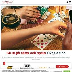 Spela live kasinospel 2021