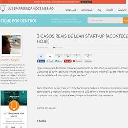 3 Casos Reais de Lean Start-up