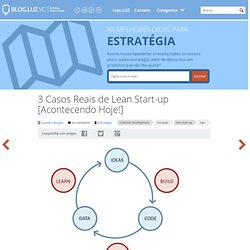 3 Casos Reais de Lean Start-up