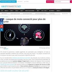 IC-R : casque de moto connecté pour plus de sécurité