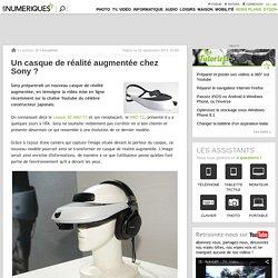 Un casque de réalité augmentée chez Sony ?