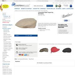 Casquette Plate Trapani by Borsalino - EUR 99.00