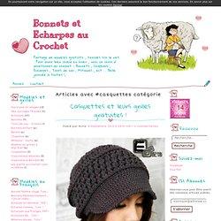casquettes - Bonnets et Echarpes au Crochet