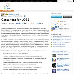 Cassandra for LOBS | Ruby Zone
