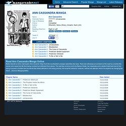 Ann Cassandra Manga - Read Ann Cassandra Online For Free