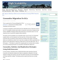 Cassandra Migration to EC2