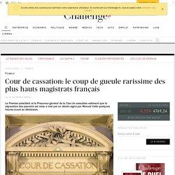 Cour de cassation: le coup de gueule rarissime des plus hauts magistrats français