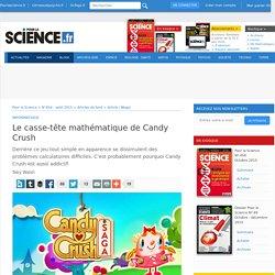 Le casse-tête mathématique de Candy Crush