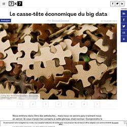 Le casse-tête économique du big data