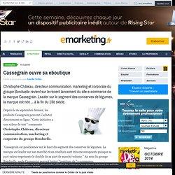 Cassegrain (groupe Bonduelle) ouvre son propre site de vente en ligne