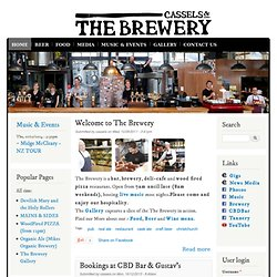 Cassels & Sons Brewery - a bar, brewery, cafe, restaurant & music venue