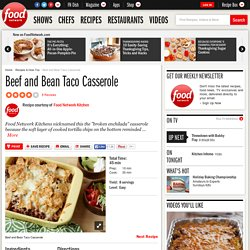 Beef and Bean Taco Casserole Recipe