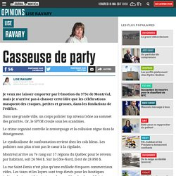 Casseuse de party
