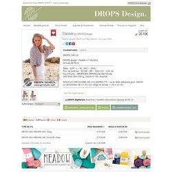 """Cassie - Boléro ajouré DROPS en """"Big Merino"""". Du S au XXXL. - Free pattern by DROPS Design"""