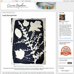 Leafy Spring Prints