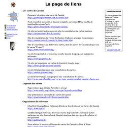 Cassini - Liens vers d'autres sites