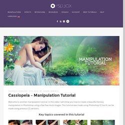 Cassiopeia - Manipulation Tutorial - PSD Box Premium