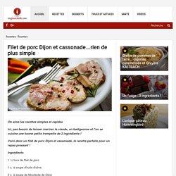 Filet de porc Dijon et cassonade...rien de plus simple - Recettes - Ma Fourchette