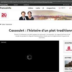 FRANCE 2 23/07/16 JT20H Cassoulet : l'histoire d'un plat traditionnel
