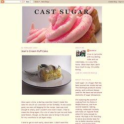 Jean's Cream Puff Cake
