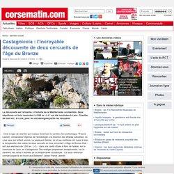 Castagniccia : l'incroyable découverte de deux cercueils de l'âge du Bronze
