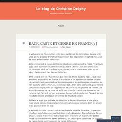 RACE, CASTE ET GENRE EN FRANCE[1]