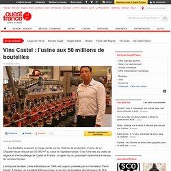 Vins Castel: l'usine aux 50millions de bouteilles