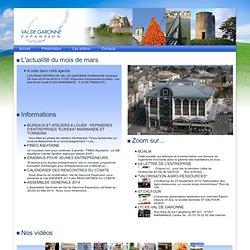 Val de Garonne Expansion - Entre Marmande, Duras, Casteljaloux et Tonneins, implantez et développez votre entreprise.