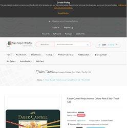 Faber-Castell Polychromos Colour Pencil Set - Tin of 120