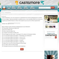 Castelmore - Enseignants