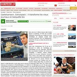 Castelsarrasin. Cellulopack : il transforme les vieux journaux en barquette bio - 27/10/2013 - LaDépêche
