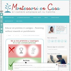Educar sin premios ni castigos - Parenting without rewards or punishments