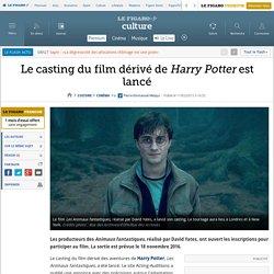 Le casting du film dérivé de Harry Potter est lancé