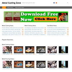 Registration - Metal Casting Zone | Metal Casting DIY | Home Casting