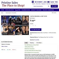 Castle Seasons 1-8 Set (DVD) – Pristine Sales