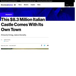 Castle di Sismano, Umbria, Italy Listed at $8.3 Million