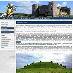 CastleXplorer : Explore the castles of England, Scotland and Wales