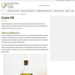 Castor Oil - Essential Oils Care