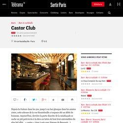 BAR: Castor Club 75006