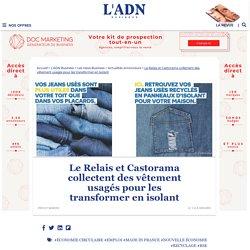 Le Relais et Castorama collectent des vêtements pour en faire des isolants