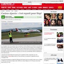 Castres-Ajaccio : c'est reparti pour Hop! - 23/01/2015 - ladepeche.fr