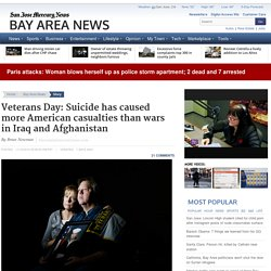 Veterans Day: Suicide has caused more American casualties than wars in Iraq and Afghanistan