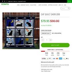 Cat quilt 2408 206 - Ecrafta
