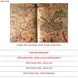 235B Catalan Atlas, détail, Europe