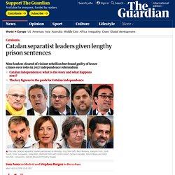 catalan separatist prison sentences