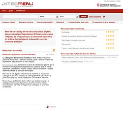 MeRLí - Directori de recursos educatius en línia