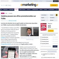 Catalina pousse ses offres promotionnelles sur FidMe