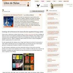 Catálogo de la literatura de ciencia ficción española II (1953-1969)