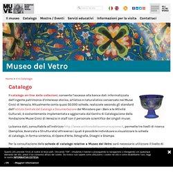 Catalogo - Museo del Vetro