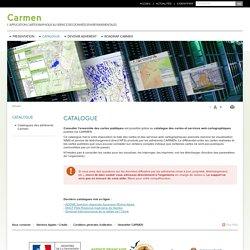 Carmen - Cartes publiques et services web cartographiques